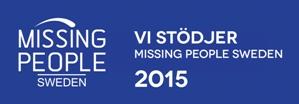 Vi stödjer Missing People